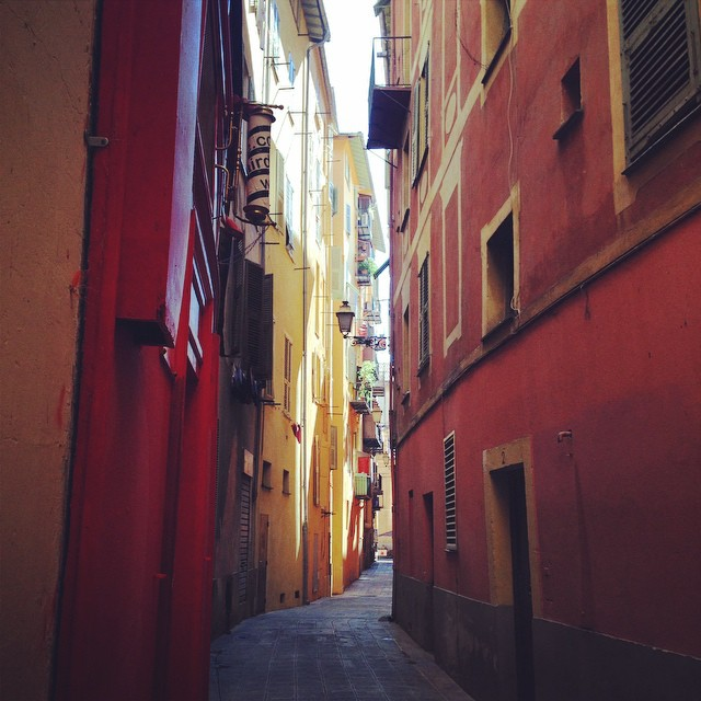 Lane ways in old town