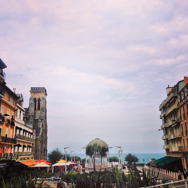 Walking around Biarritz