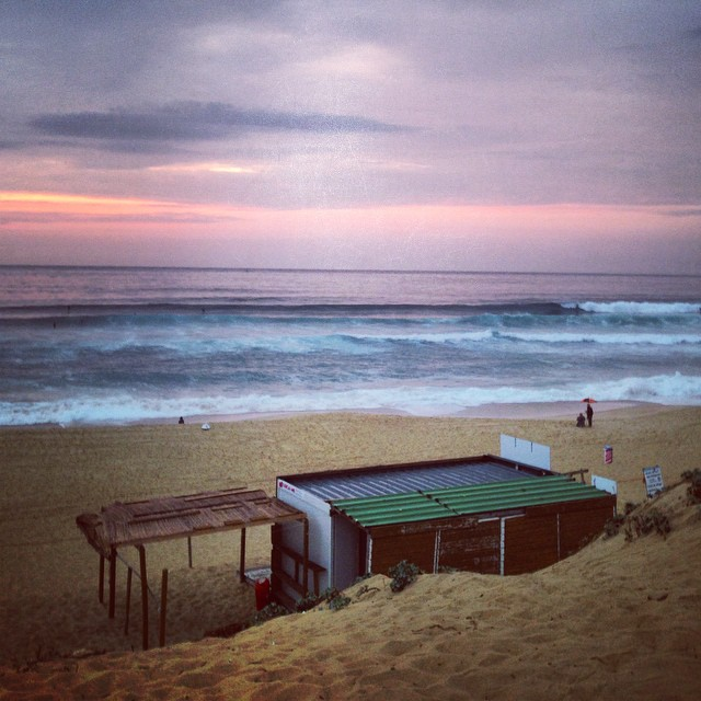 Sunset in Hossegor