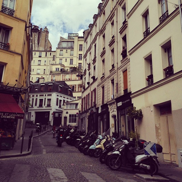 Streets in Montmarte