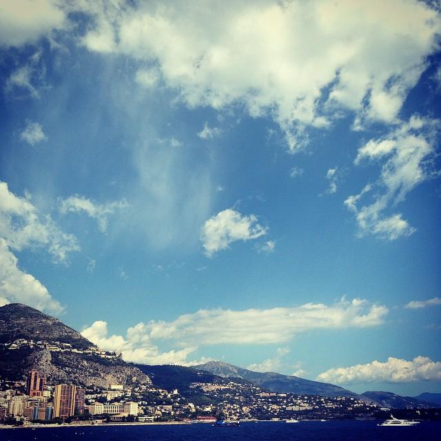 Monaco towards Eze