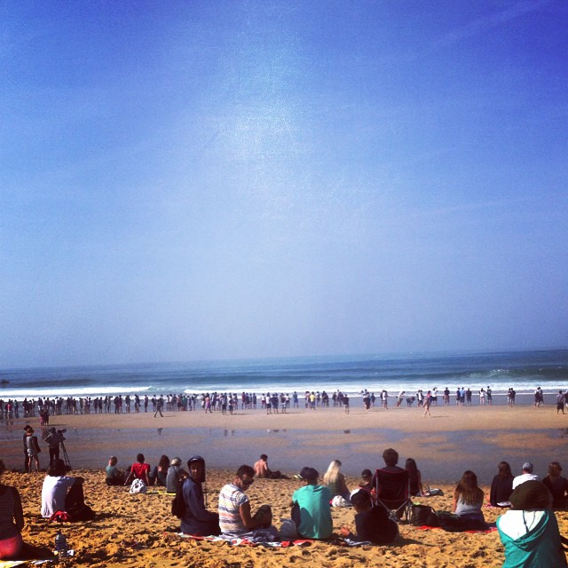 Sooo many photographers at the Quicksilver Pro France