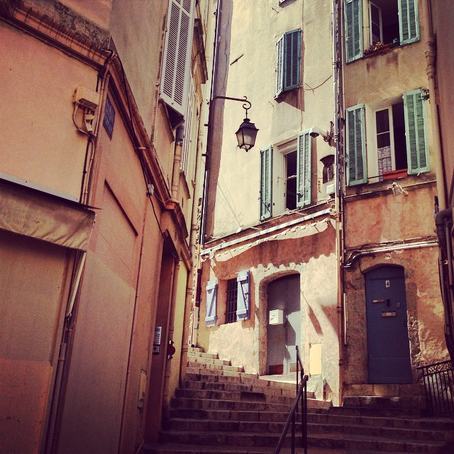 Streets of Le Suquet