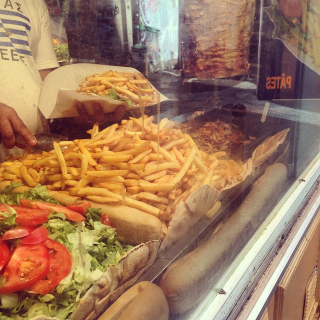 Kebabs in Paris