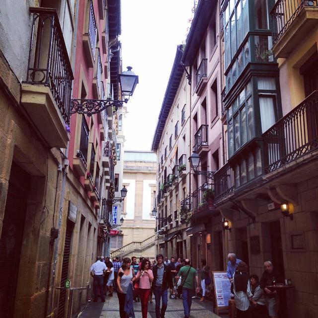 Streets in San Seb
