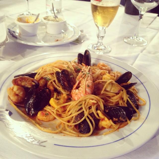 Fresh Seafood Spaghetti