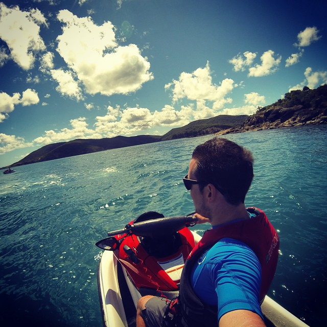 Jetski tour around the islands