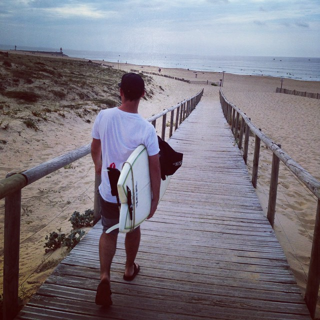 Off for a surf