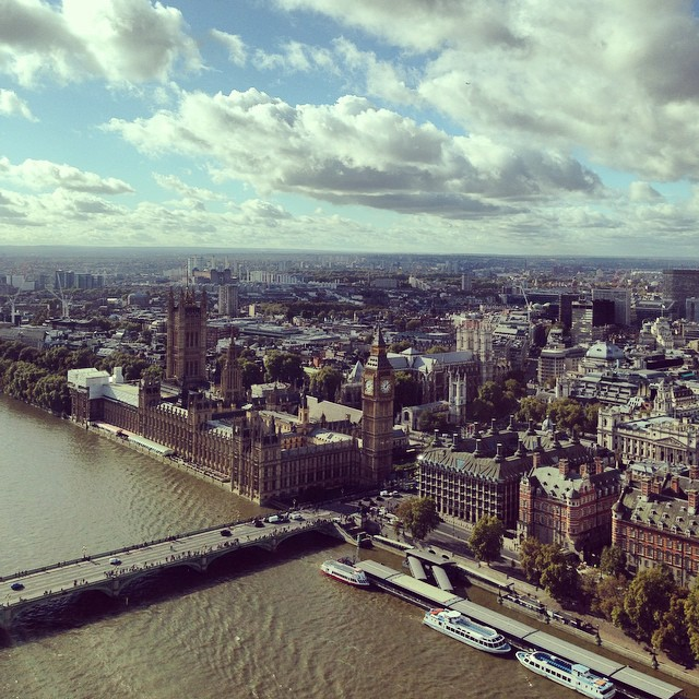 London from the a eye