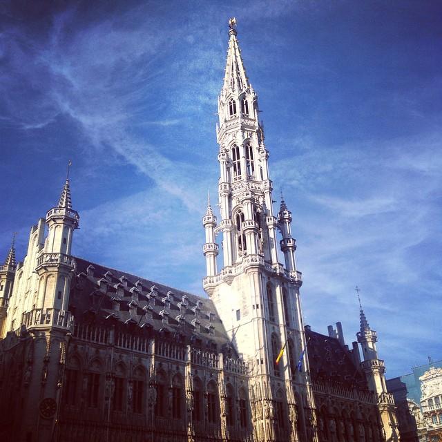 Walking around Brussels