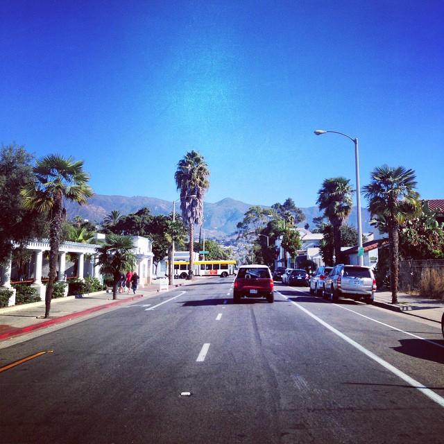 Streets of Santa Barbara