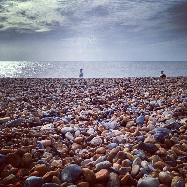 Pebble beaches