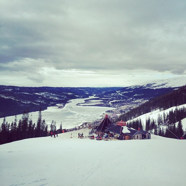 Sweet view from Åre