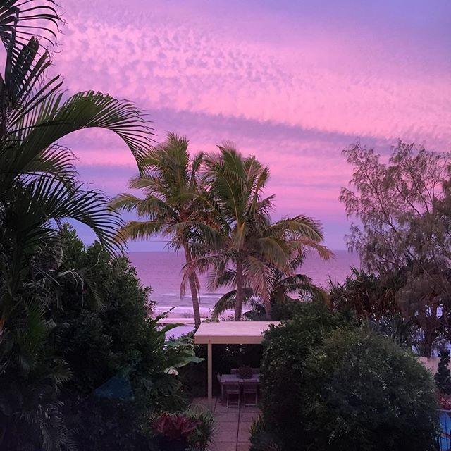 Sky at Senset at Sunrise Beach