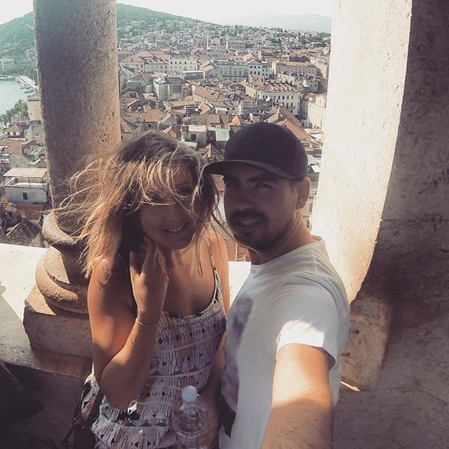 Selfie over Split old town
