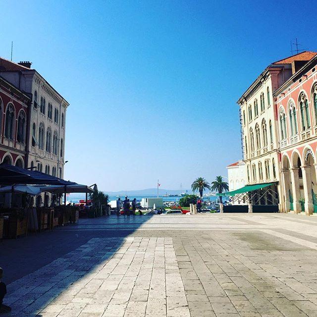 A square in Split