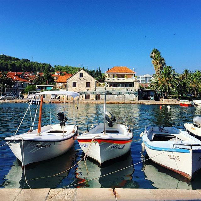 Boats in Stari Grad