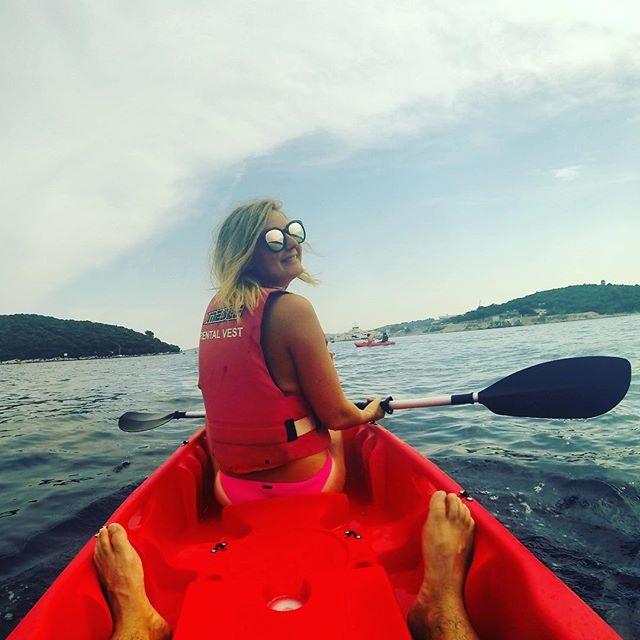 Kayak tour in Korcula