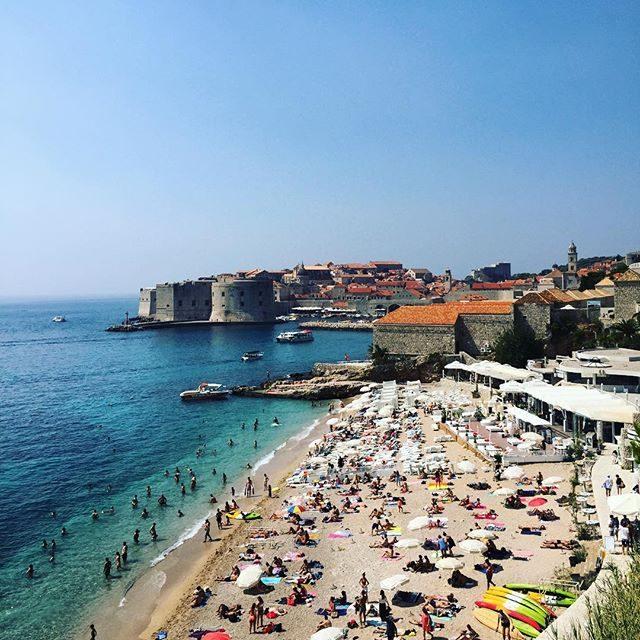 Beach in Dubrovnik