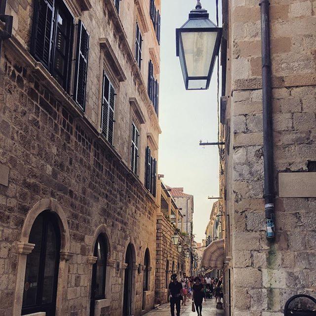 Laneways in old town Dubrovnik