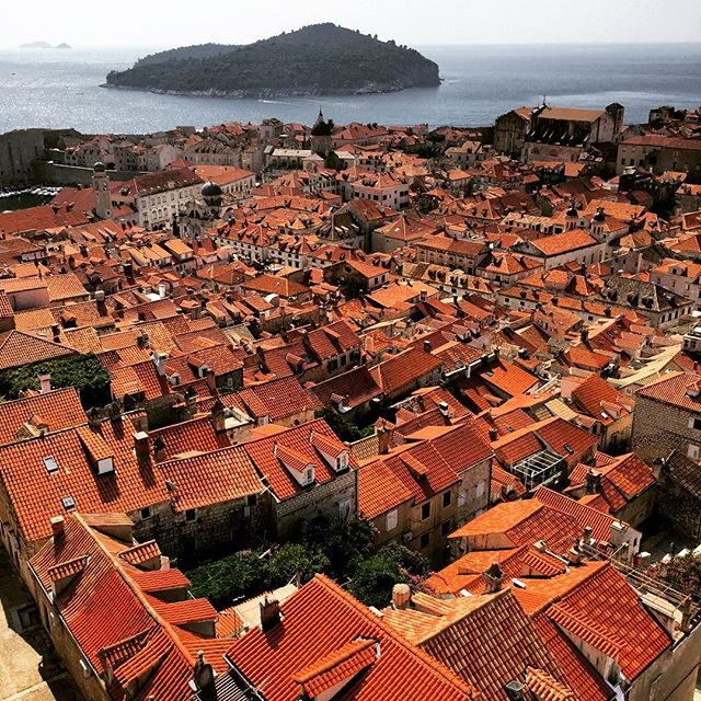 The awesome old town of Dubrovnik