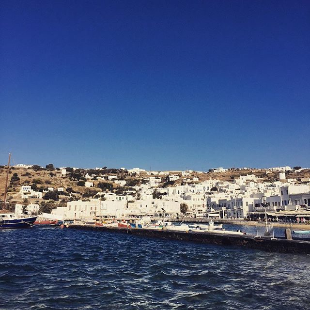 Old port Mykonos