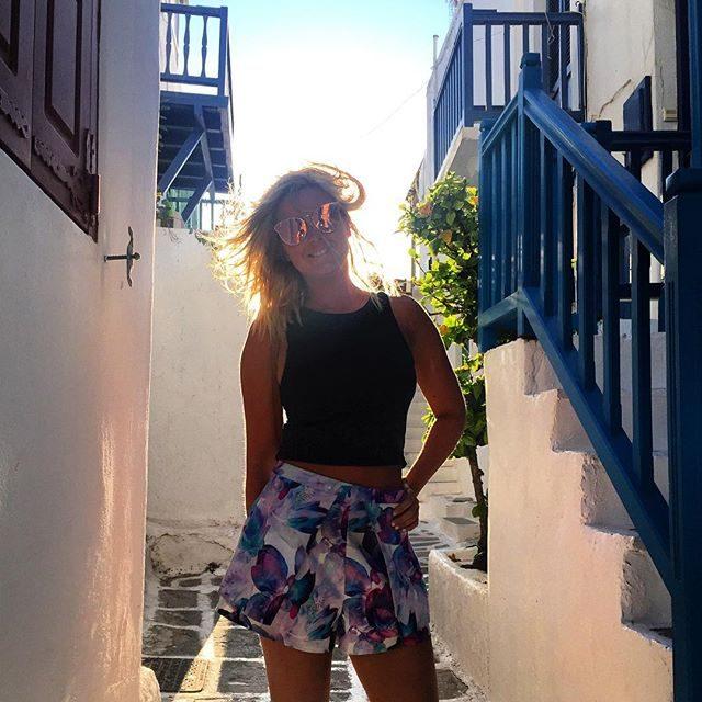 Love the streets of Mykonos