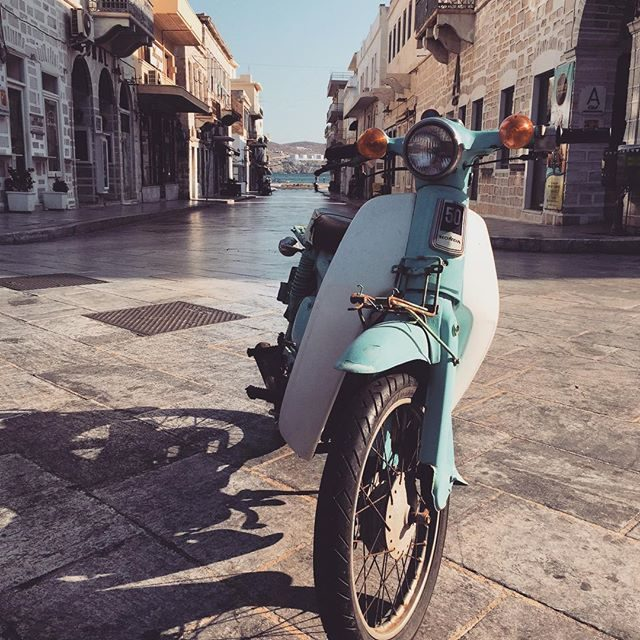 Bike in Syros