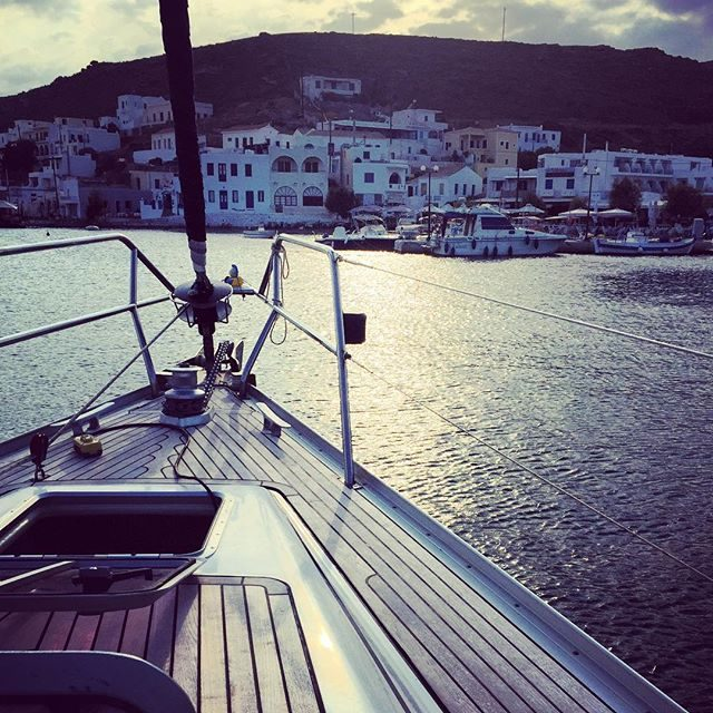 Yacht views in Kythonos