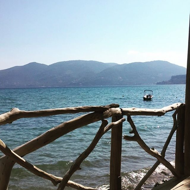 Zante views on the bridge to Cameo Island