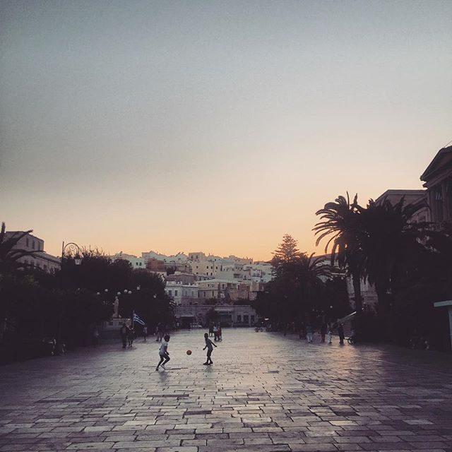 Syros square