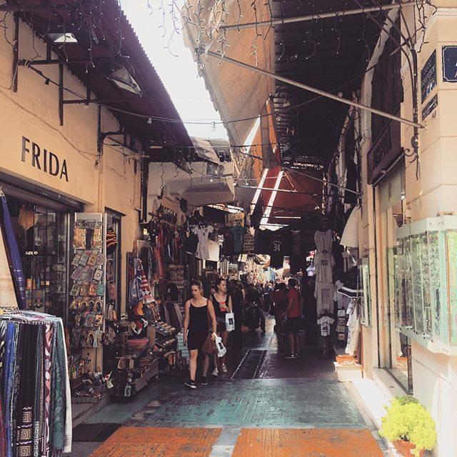 Monastiraki markets