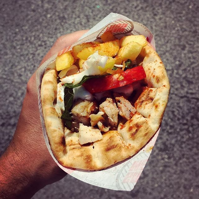 When in Greece – Gyros!