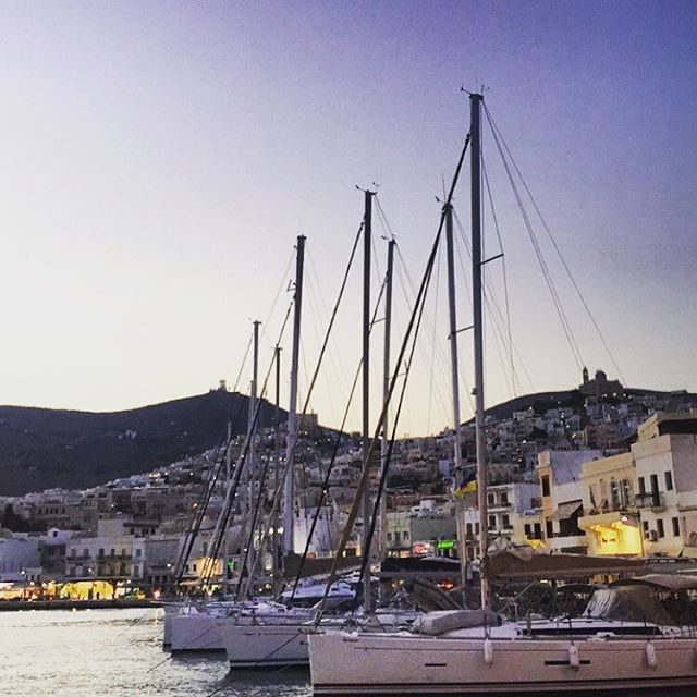 Syros harbour