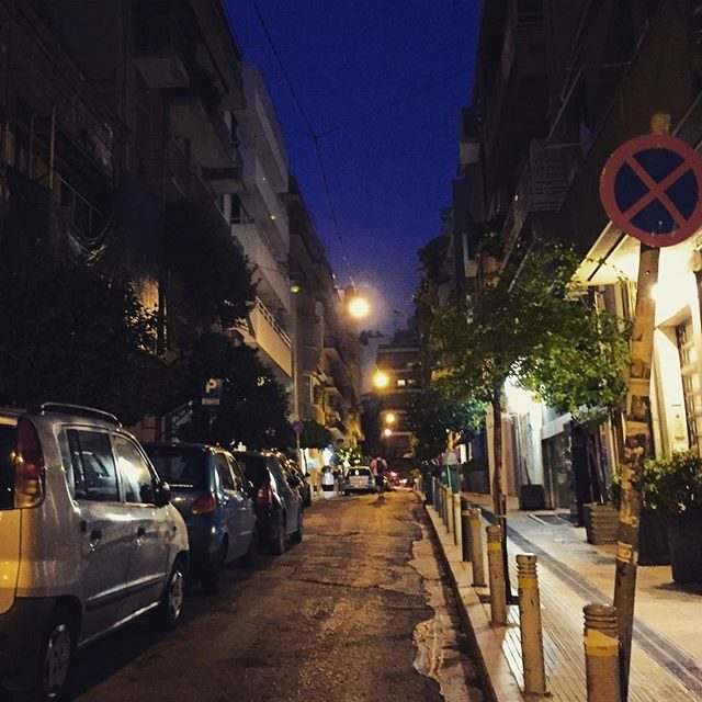 The streets of Loakim, Athens