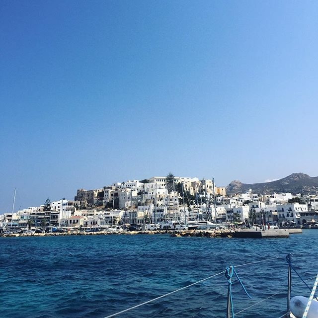 Sailing into Naxos