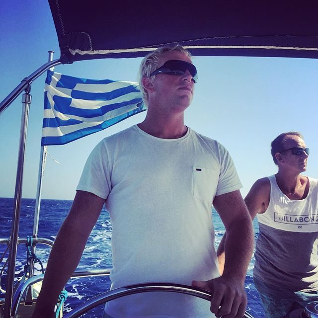 Woodsy at the helm
