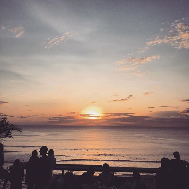 Single Fin at Sunset