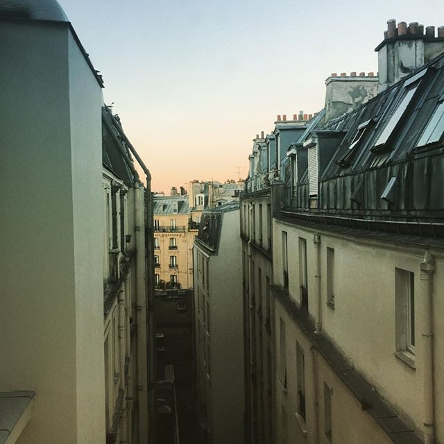 Paris hotel views