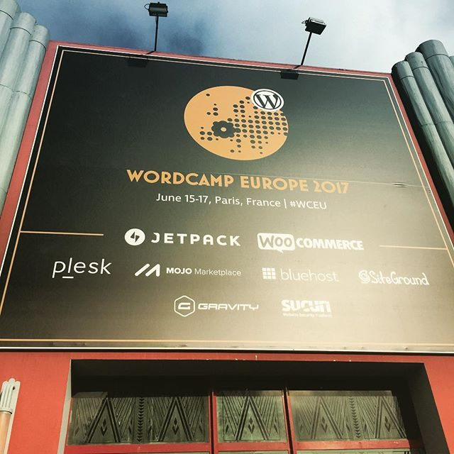 WordCamp Europe entrance