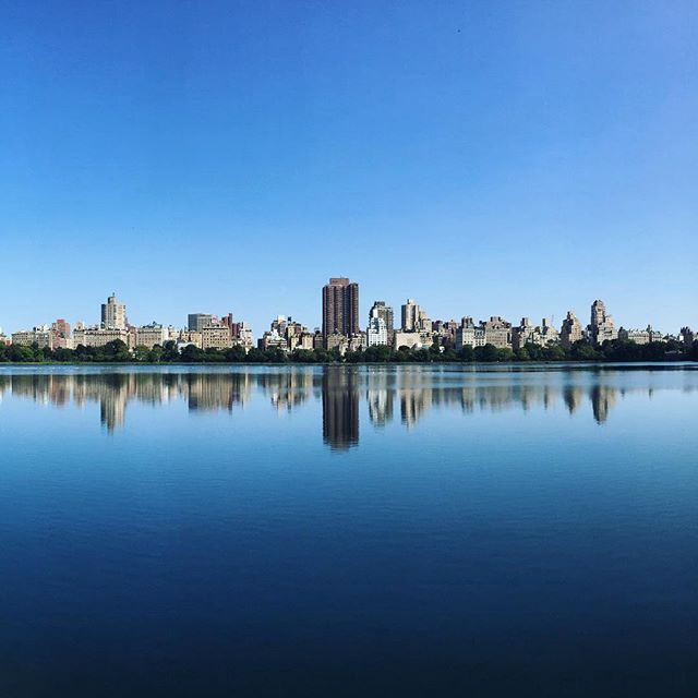 Reflections on the Central Park Reservoir