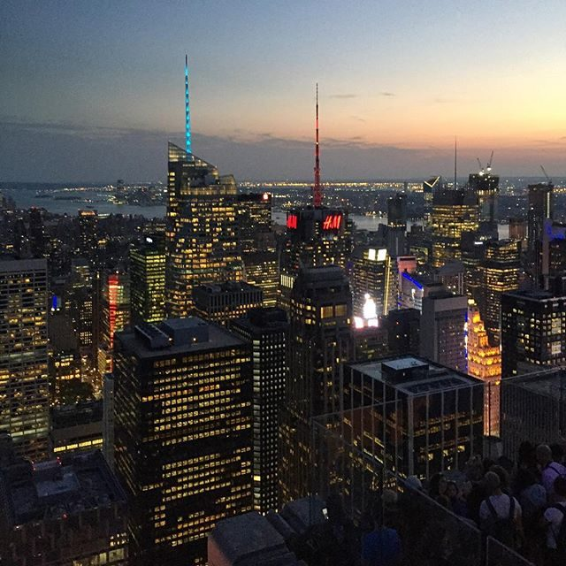 NYC from the top of the rock