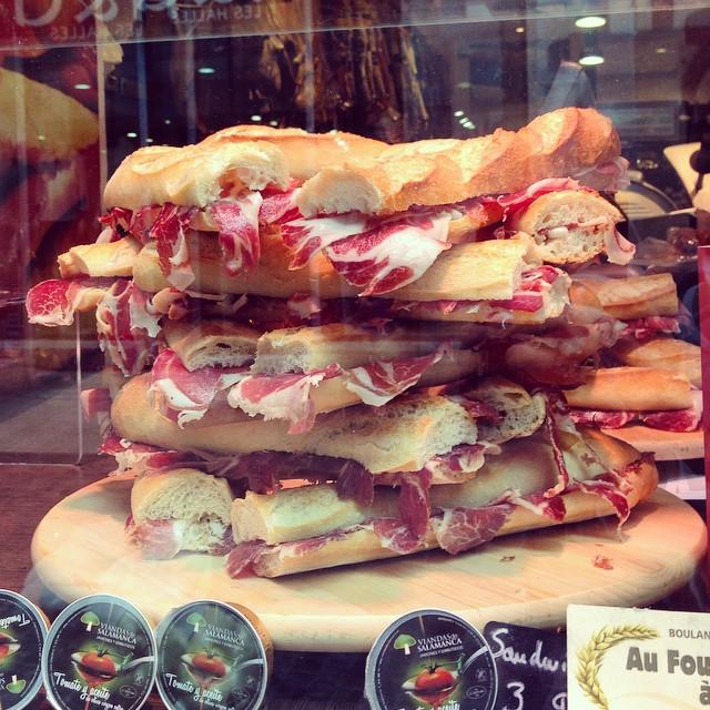 Spanish Ham – yum!