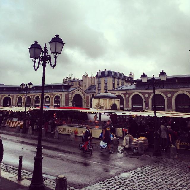 Markets in Versailles