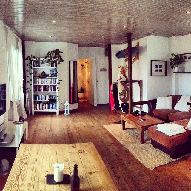 Our rad loft apartment