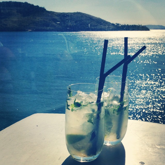 mojitos in the sun #yayholidays #noworkfor8weeks