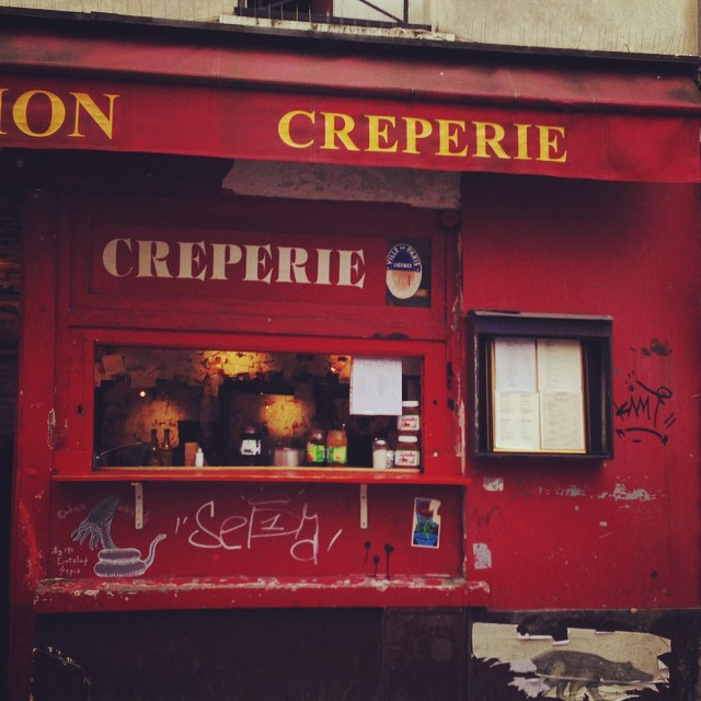 Mmmmmmm crepes