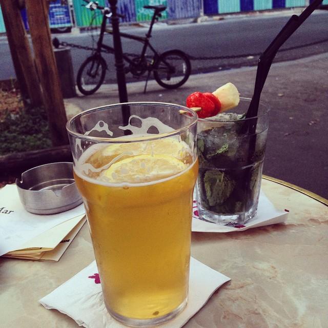 Happy Hour at a bar in Le Marais