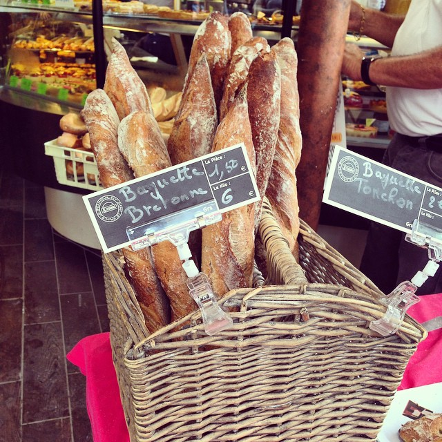 We're addicted to baguettes