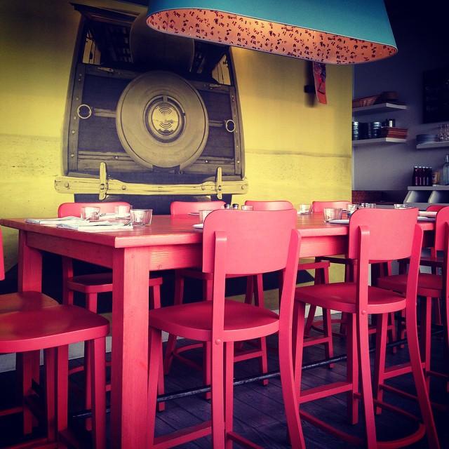 Cool restaurant in Biarritz
